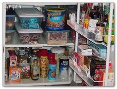 more narrow pantry organization