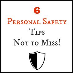 I recently took a women's self-defense class through the Sheriff's Department in my area. Some of the best things I learned in the class were the simplest to do. Here are 6 Personal Safety tips that you will want to make sure that you know next time you leave home.