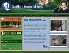 seanmorrisbenefit.org Sean M. Morris Memorial Golf Benefit.