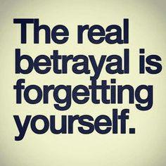 Real betrayal