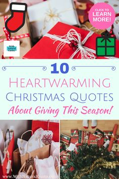 Shake off the bah-humbugs and get into the holiday spirit with these 10 Christmas quotes on giving. Related: 10 Amazing Short Inspirational Quotes On Life https Super Funny Quotes, Funny Quotes For Teens, Funny Sayings, Top Quotes, Christmas Quotes, Life Quotes, Short Inspirational Quotes, Inspiring Quotes About Life, Relationship Jokes