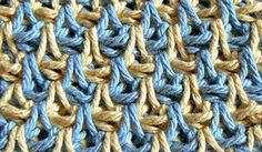 "Strange ""Teardrop"" Stitch   A Quest for Beauty & Utility through Tunisian Crochet"