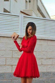 122c52e8b4 Las 789 mejores imágenes de vestidos rojos