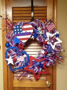Mary's Patriotic Wreath