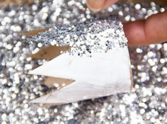 Recycled Cardboard Glitter Crowns | Moonfrye