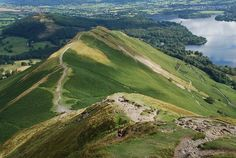 Wainwright Routes - Catbells Route One Peak District, English Countryside, Lakes, Backpacking, Scotland, Golf Courses, Coast, Hiking, England