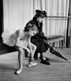 Boris Lipnitzki       Teenaged Brigitte Bardot in Ballet Class, Paris     1946