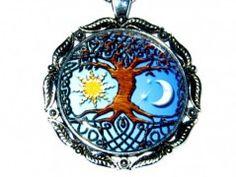 Strom života,den a noc. Coin Purse, Purses, Wallet, Chain, Silver, Handbags, Necklaces, Purse, Bags