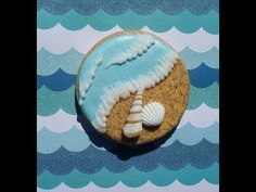 Cookie decorating tutorial - Beach themed cookies