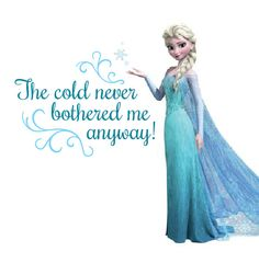 ELSA - Custom FROZEN Text to compliment RoomMates Brand wall decals www.wildgreenrose.etsy.com