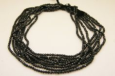 1strand  natural black zircon faceted ball sized 3mm by 3yes