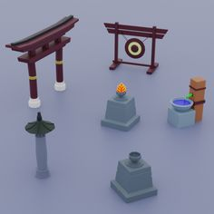 Things from ancient China Low. Fully customizable low-poly 3D model. #3D #3DModel #3DDesign #Lowpoly #3dcomic #VR #AR #ancient #architecture #asia #asian #building #CartoonLowpoly #chaina #china #chinese #culture #design #game #home #house #household #japon #low #old #other #poly #samurai #traditional #travel Low Poly 3d Models, Ancient China, Ancient Architecture, Chinese Culture, 3d Design, Vr, Geometry, Samurai, Household