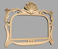 A168 Decor Around Tv, 3d Mirror, Baroque Design, Wood Carving Art, Miniature Furniture, Luxury Interior Design, Diy Home Improvement, Islamic Art, Cnc Router
