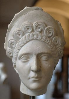 Trajan's wife was Pompeia Plotina, a woman known for an interest in philosophy, virtue, dignity and simplicity. Like Trajan, she was born in Spain. The couple had no children, and adopted Trajan's cousin, the future Emperor Hadrian, when he was a boy. When Plotina died, Hadrian, now emperor, deified her and built her a temple in Provence.