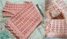 filli-beyaz-bebek-yelek | Nazarca.com Crochet Shawl, Crochet Top, Baby Knitting Patterns, Crochet Patterns, Quilling Tutorial, Crochet Baby Clothes, Crochet Woman, Baby Booties, Baby Quilts