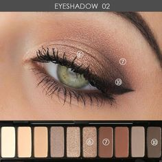 Type: Eye ShadowNET WT: 20gBenefit: Waterproof / Water-Resistant,Long-lasting,Natural,Other,Brighten,Easy to WearIngredient: MineralFinish: Natural,Radiant,MatteModel Number: ME610-NQuantity: 1pcSize: Full SizeSingle color/multi-color: Four colorsWaterproof / Water-Resistant: YesBrand Name: MARIA AYORA