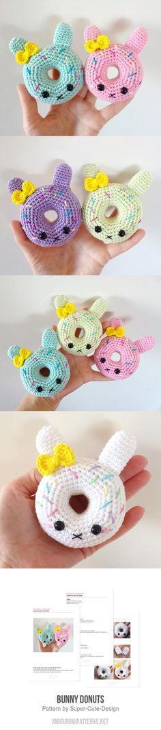 Bunny Donuts Amigurumi Pattern