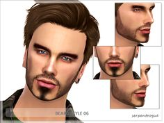 The Sims Resource: Beard Style 06 by Serpentrogue • Sims 4 Downloads