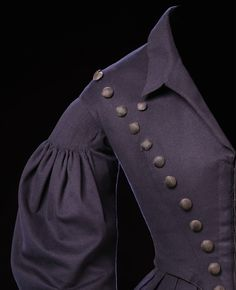 "Riding habit ca. 1837-40 From the exhibition ""A Century of Style: Costume and Colour 1800-1899″ at Glasgow Museums"