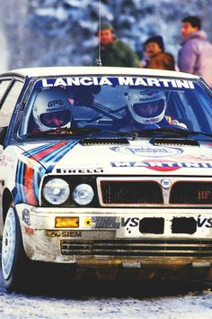 Lancia Martini Delta HF Turbo