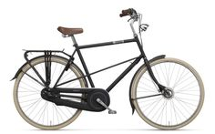 Batavus Hommage 3 Male Mat Black