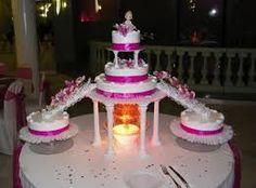 Resultado de imagen para pastel de 15 años con estrellas