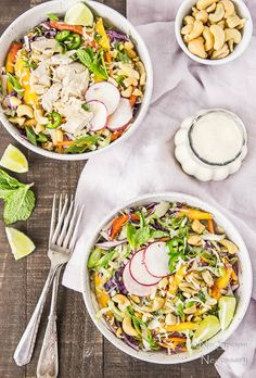 Because salads are the best summer food.