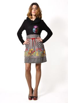 Savage Culture: Lovely Cashmere Sweater Dress Anita, only on wildcurves.com!