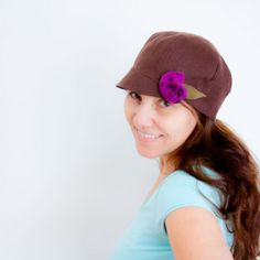 Free hat pattern at Fabric-store.com blog. http://www.fabrics-store.com/blog/2013/08/20/small-brimmed-hat/?utm_source=newsletter_medium=email_term=Patrons_content=BrimmedHat_campaign=Blog