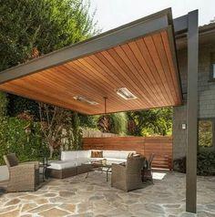 Backyard Patio Designs, Pergola Designs, Backyard Landscaping, Patio Ideas, Roof Ideas, Pergola Ideas, Landscaping Ideas, Backyard Ideas, Porch Ideas