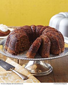 Gingerbread Bundt Cake | Cuisine at home eRecipes