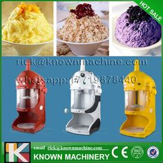 hot sale snow ice shaver block shaving machine yellow red white ice crusher maker machine - Ice Machines For Sale