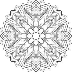 Flower Power - a free printable mandala coloring page. Many more available for free, too. https://mondaymandala.com/m/flower-power?utm_campaign=sendible-fbp&utm_medium=social&utm_source=pinterest&utm_content=flower-power#utm_sguid=164897,c9c30066-2943-3001-c49d-8bc3e65a2c4a