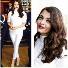 Aishwarya Rai Bachchan is classy in white at Cannes 2015. #Bollywood #Fashion #Style #Beauty #Cannes2015
