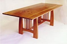 Arts U0026 Crafts U2013 Mission Style U2013 Handmade U2013 Custom Designs  Dining Table U2013  Dining Wooden Furniture | For The Home | Pinterest | Wooden Furniture,  Dining And ...