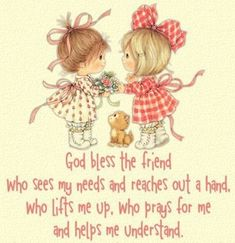 Thank you Lord for my friends!