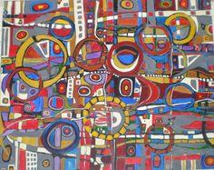 "Saatchi Online Artist jeffrey davies; Painting, ""COLOROSO #18--SOLD"" #art"