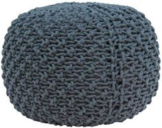 The Marina Pouf - Charcoal from Urban Barn is a unique home décor item. Urban Barn carries a variety of Cushions and other  products furnishings.