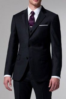 The Essential Charcoal 3 Piece Suit