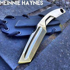 Extrema Ratio N.K.3 Stonewashed Fixed Black Neck Knife