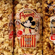 Disney parks Popcorn