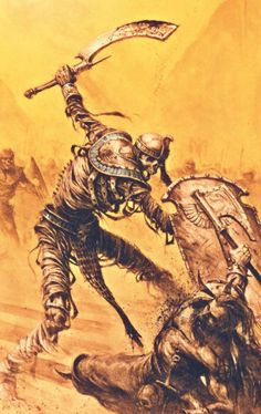 Garde des Tombes #Warhammer #LeJeuDeBatailles #GamesWorkshop