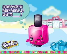 Polly Polish loves to shop...duh! #shopkins #shopkinsworld #pollypolish