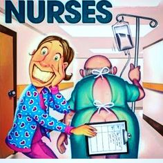 Nurses are always covering up!!