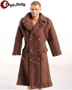 """Like and Pin if you want this  1/6 Male Figure Accessory Dragon WWII US Army Soldier Overcoat Topcoat Man Clothing For Military 12"""" Action Figure     awesome #actionfigures #Nerdy     FREE DELIVERY Worldwide    Price: $11.98 Discount from 11.98    #manga #actionfigures #Nerdy"""