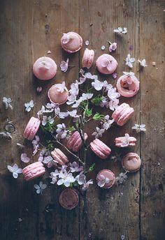 Cinco fotografías de macarons que forman parte de mis imágenes favoritas de estos complicados y diminutos seres.