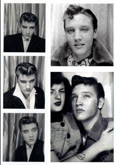 Elvis Photo Booth, 1950