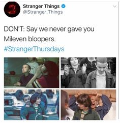 more exactly like FILLIE bc it's not their characters, it's them. Stranger Danger, Stranger Things Aesthetic, Stranger Things Funny, Stranger Things Netflix, Best Tv Shows, Best Shows Ever, Saints Memes, Movies Showing, I Movie