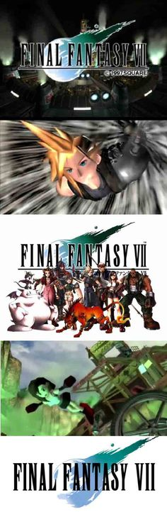 Final Fantasy VII needs to be in every classic RPG collection! Classic Rpg, Gamer News, Classic Video Games, Playstation, Ps4, Retro Gamer, We Are Young, Final Fantasy Vii, Best Series