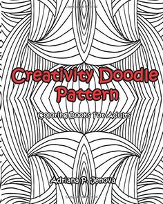 Adult Coloring Books Creativity Doodle Pattern For Adults